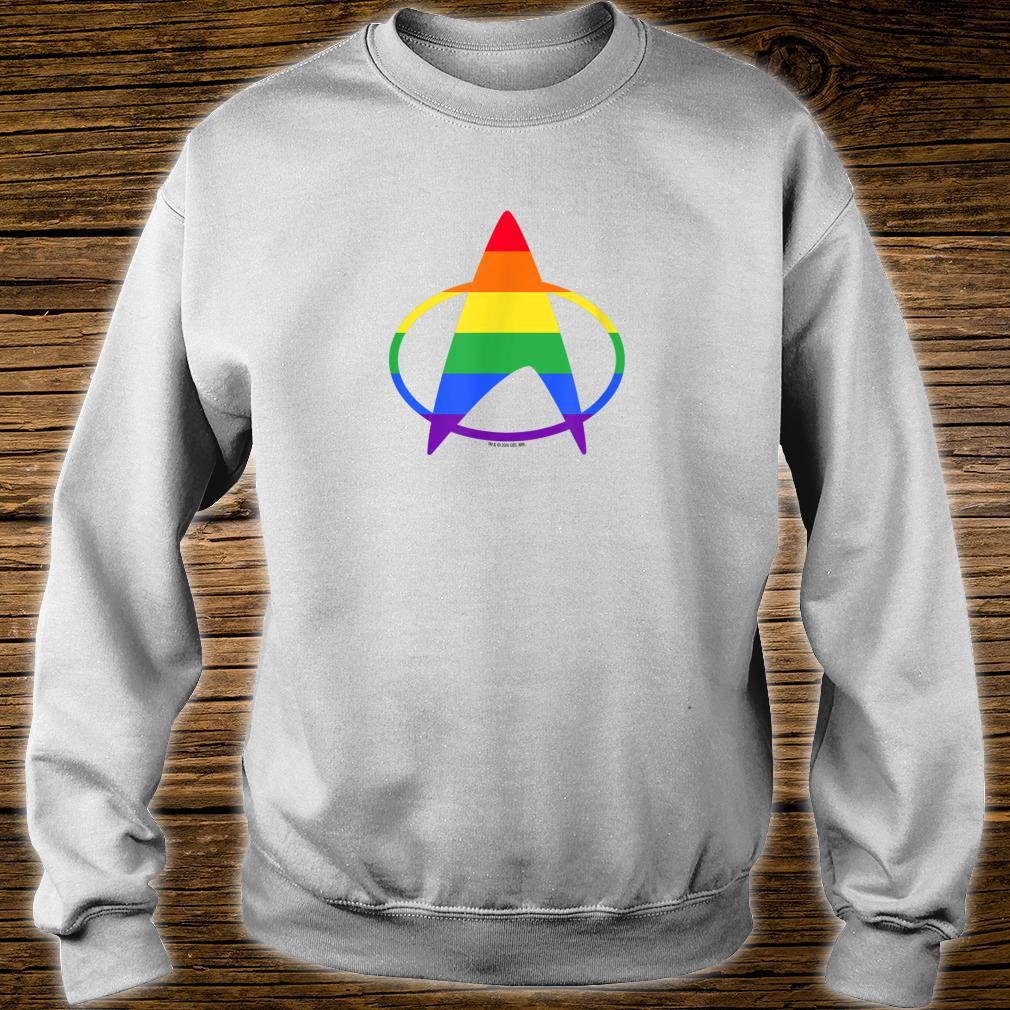 Star Trek The Next Generation Pride Delta Shirt sweater