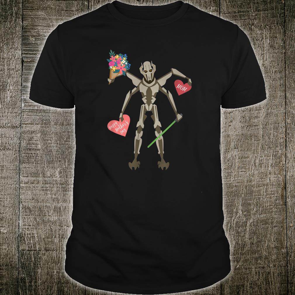 Star Wars General Grievous Mother's Day Shirt