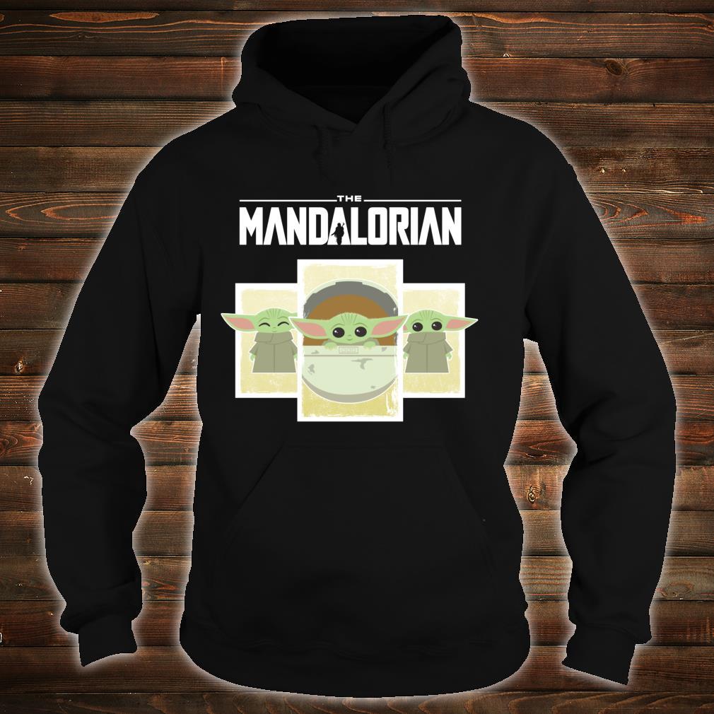 Star Wars The Mandalorian The Child Cute Cartoon Panels Shirt hoodie
