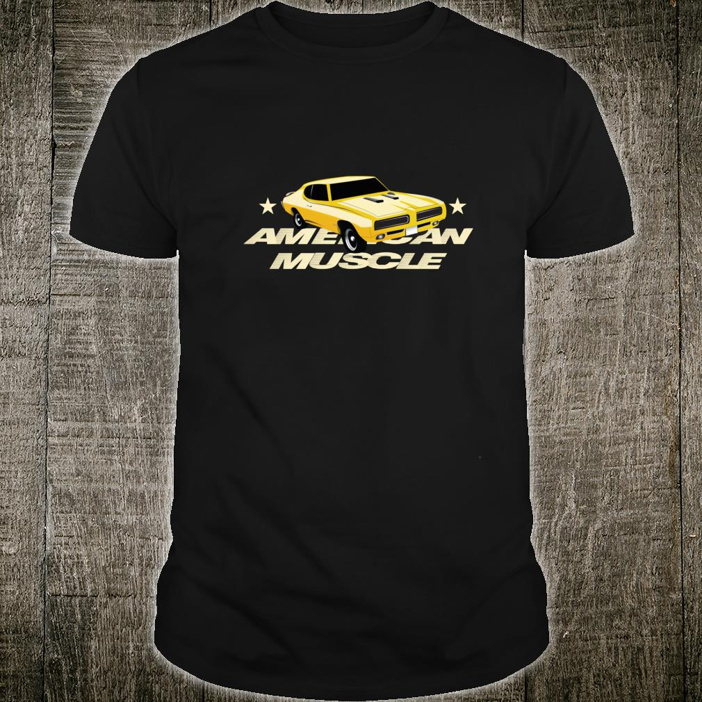Street Racing American Muscle Car Supercharger V8 Shirt