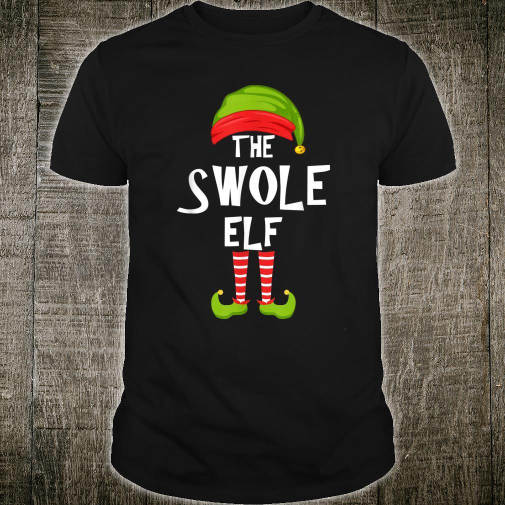 Swole Elf Matching Family Christmas Party Pajama Group Shirt
