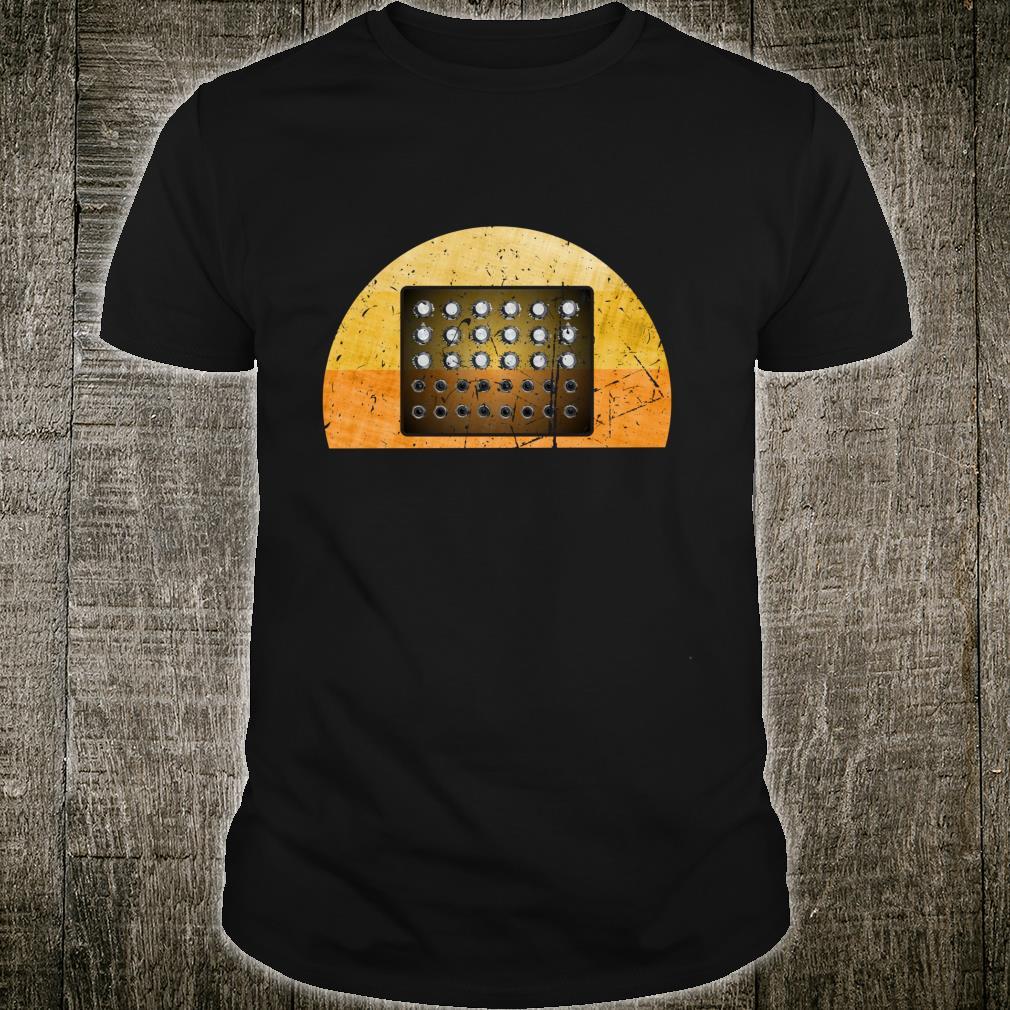 Synthesizer Musiker analog modular Geschenk Fun Shirt