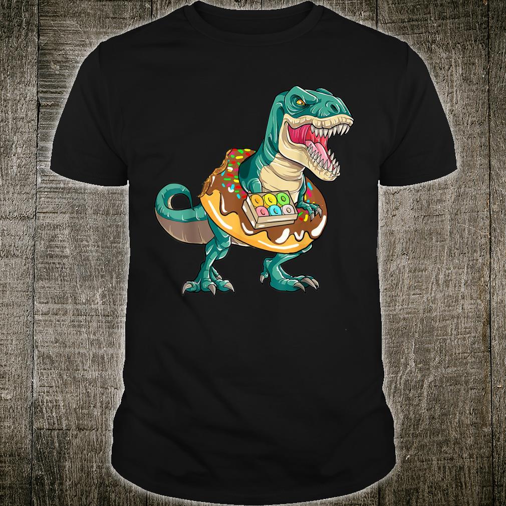 T Rex Donuts Dinosaur Shirt