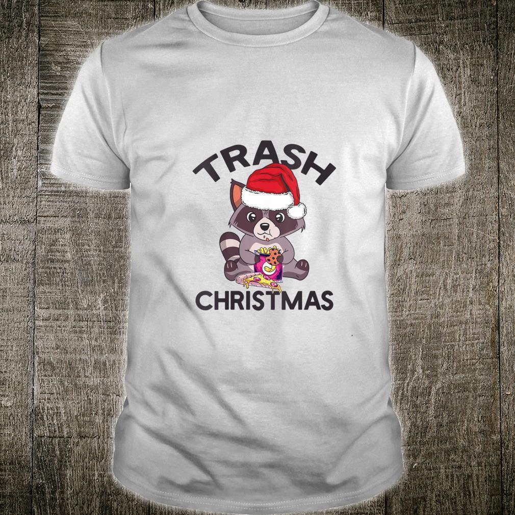 TRASH CHRISTMAS Panda Raccoon Meme Shirt