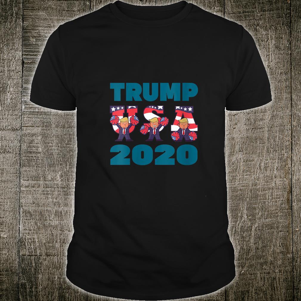 TRUMP 2020 American Flag Vote Election Vintage Shirt (2)