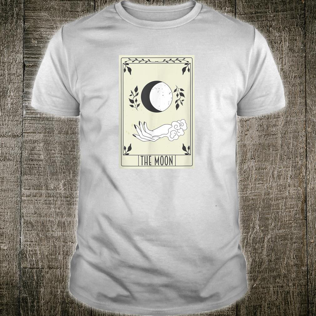 Tarot Card Crescent Moon and Black Witch Shirt