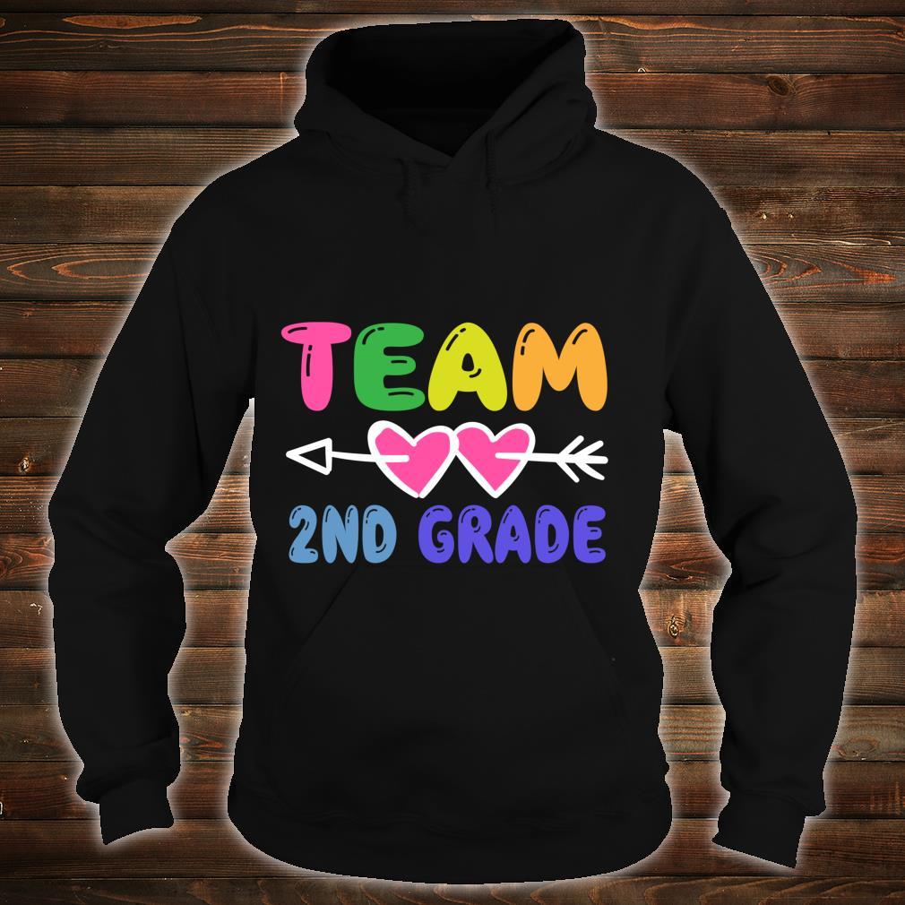 Team 2nd Grade Teacher Student Back To School Shirt hoodie
