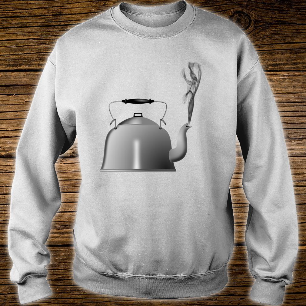 Teapot Tea Kettle Shirt sweater