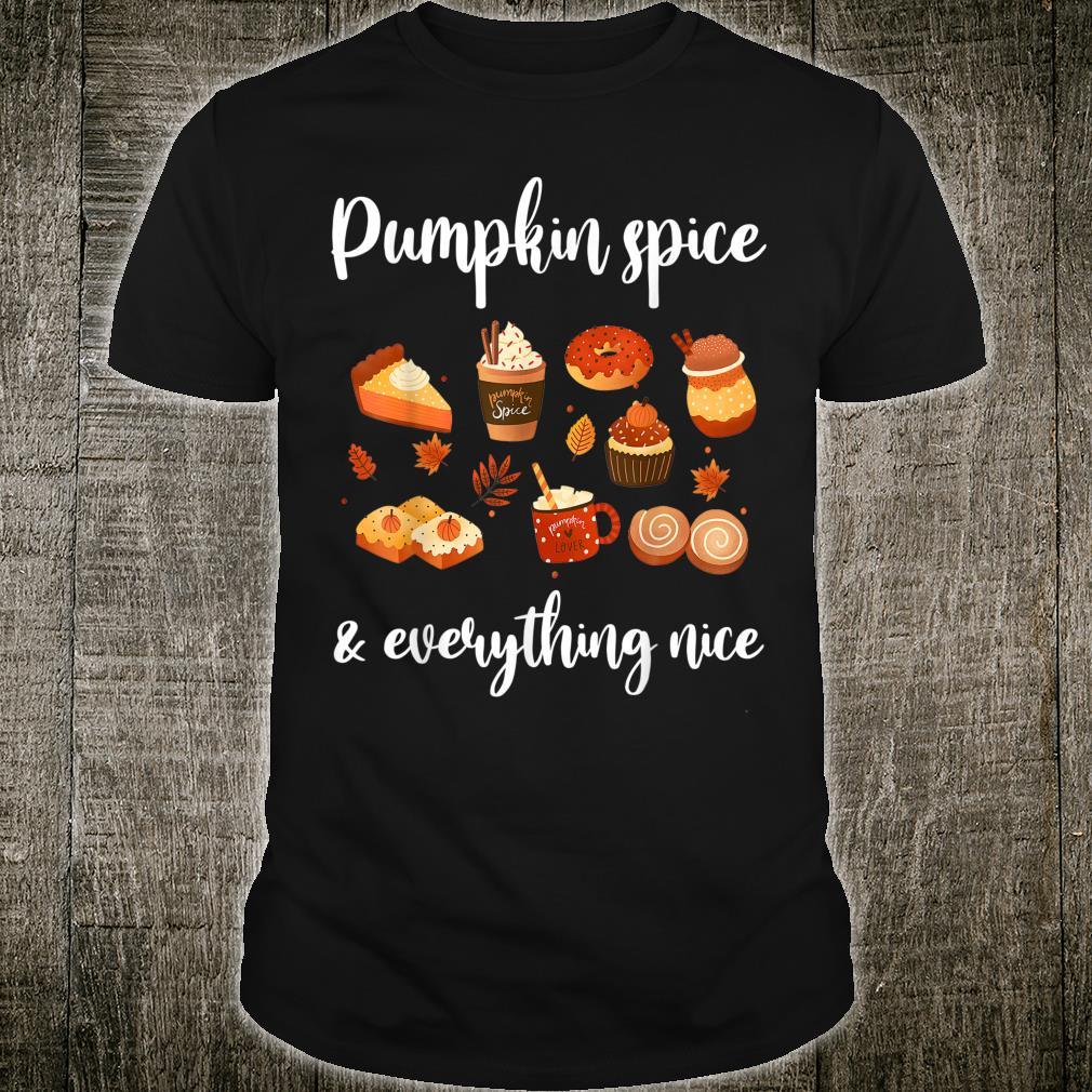Thanksgiving Pumpkin Spice Thankful & Shirt