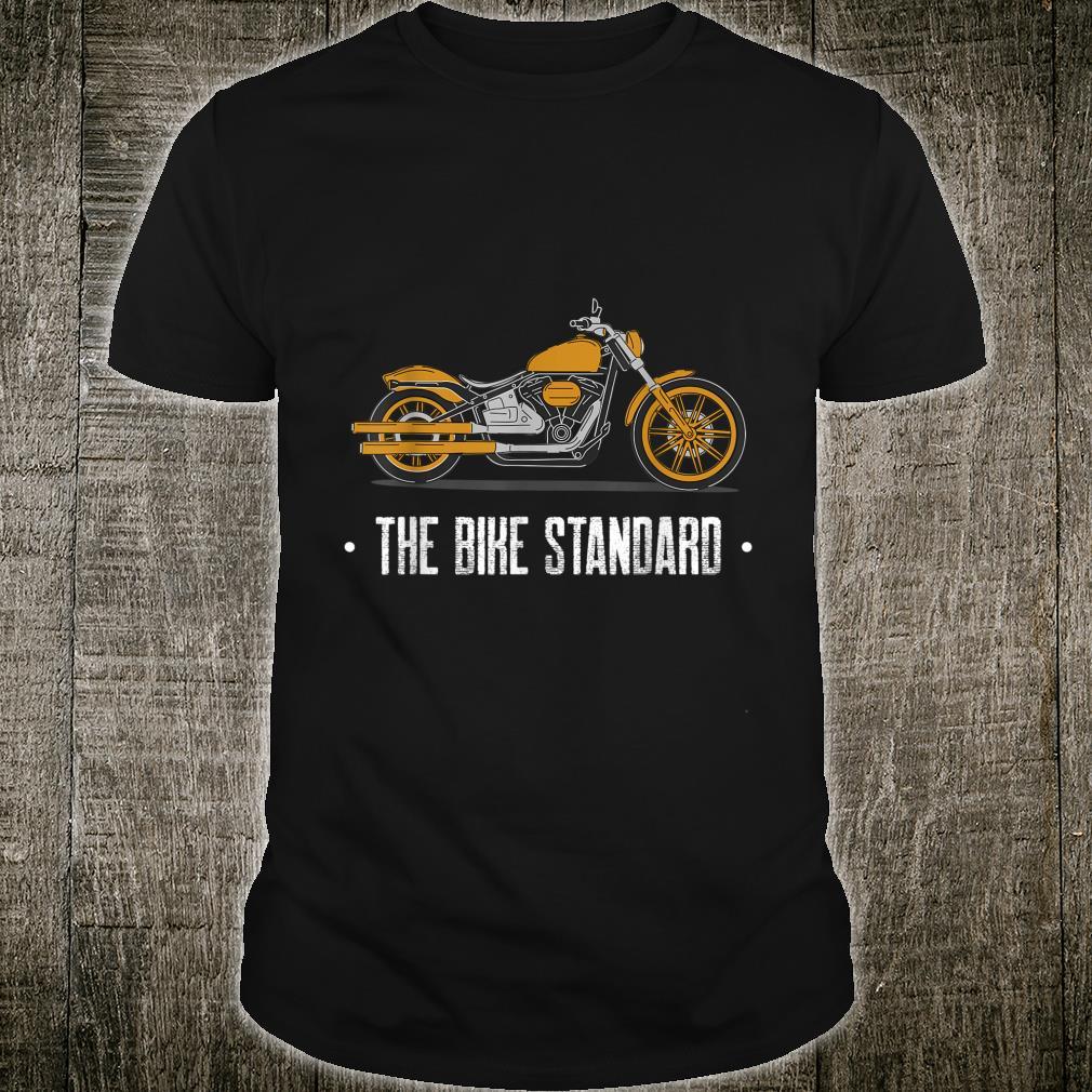 The Bike Standard Golden Motorbike Shirt