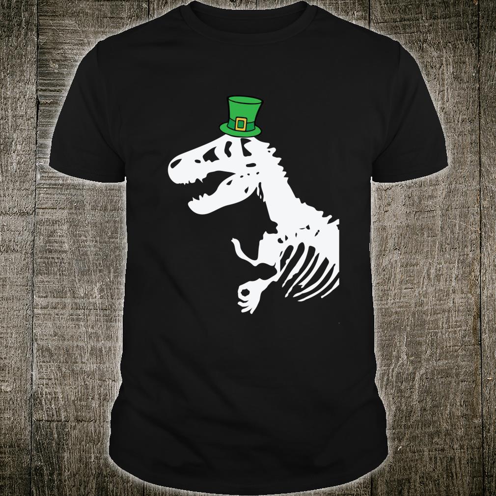 The Circle Game St. Patrick's Day Tyrannosaurus Rex Shirt