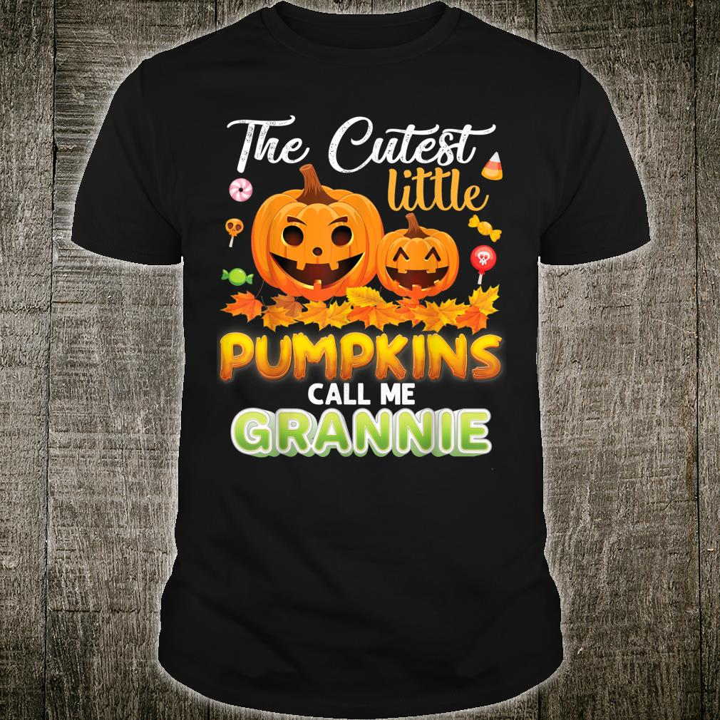 The Cutest Little Pumpkins Call Me Grannie Of In The Patch Shirt