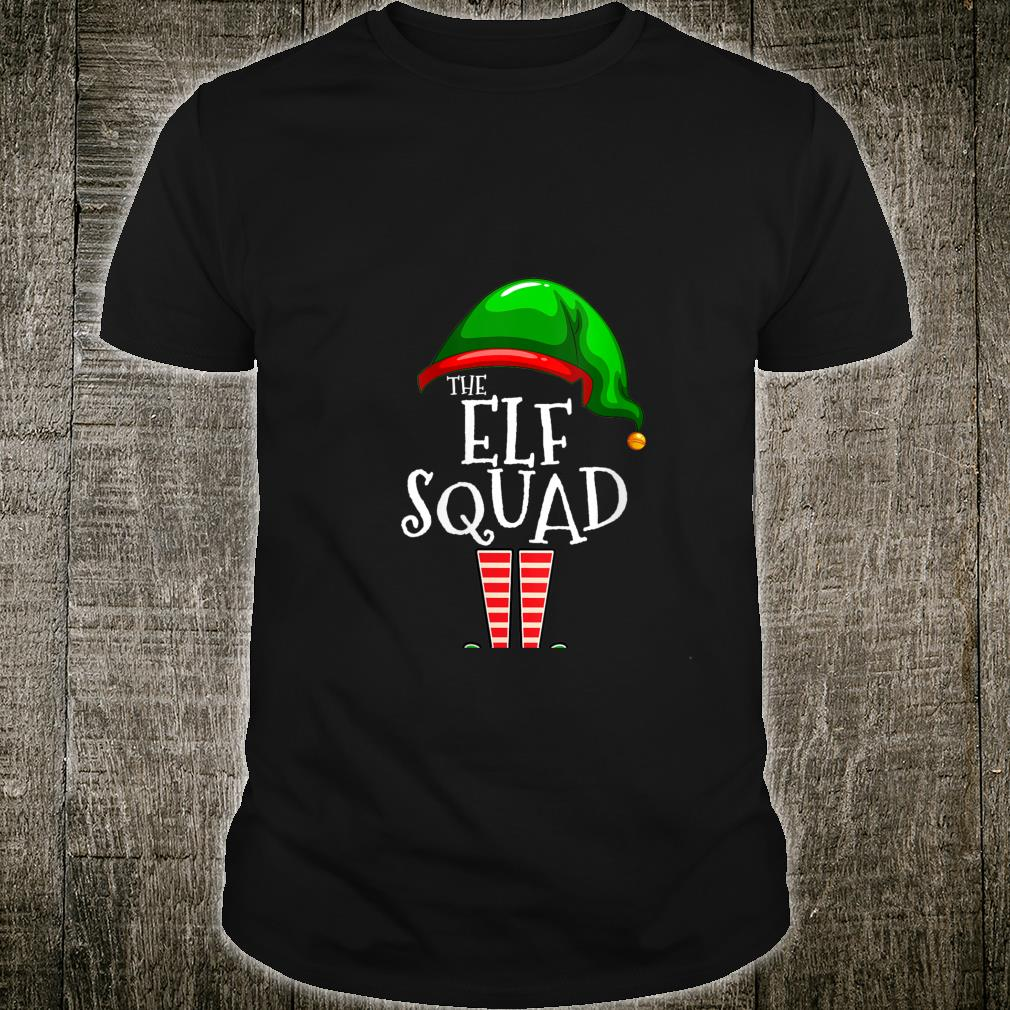 The Elf Squad Family Matching Group Christmas Holiday Shirt