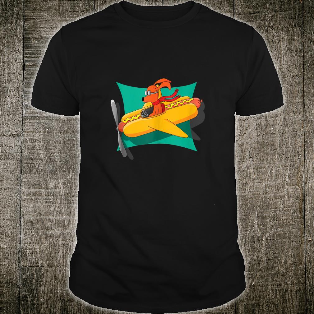 The Flying Hot Dog Super Fun Shirt