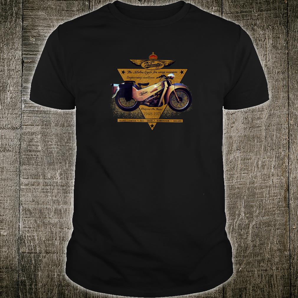 The Legendary Velocette LE Motorcycle Classic Shirt