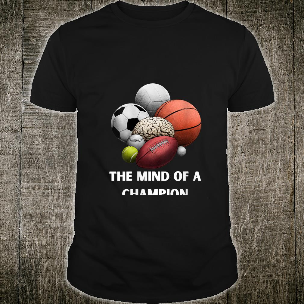The Mind of a Champion's's Girl's Boy's Sports Shirt