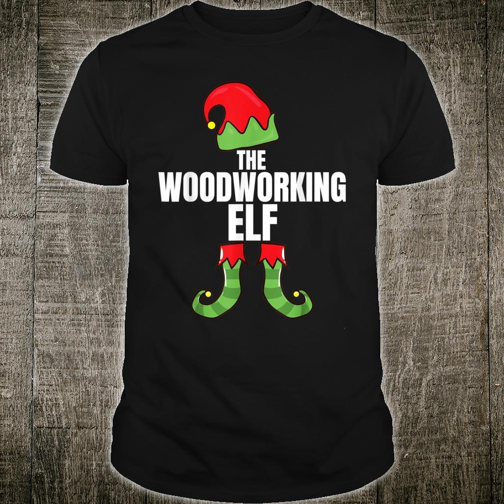 The Woodworking Elf Matching Family Christmas Group Pajama Shirt