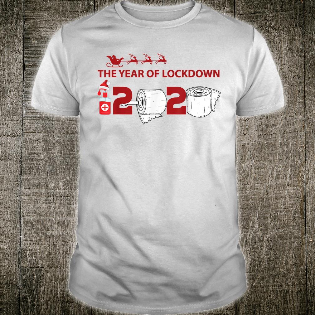 The year of lockdown 2020 Christmas Shirt