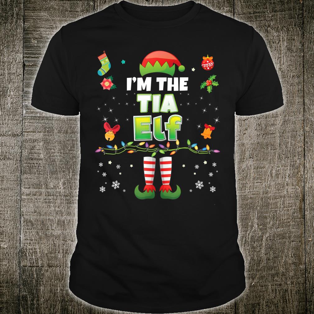 Tia Elf Matching Family Merry Christmas Santa Helper Suit Co Shirt