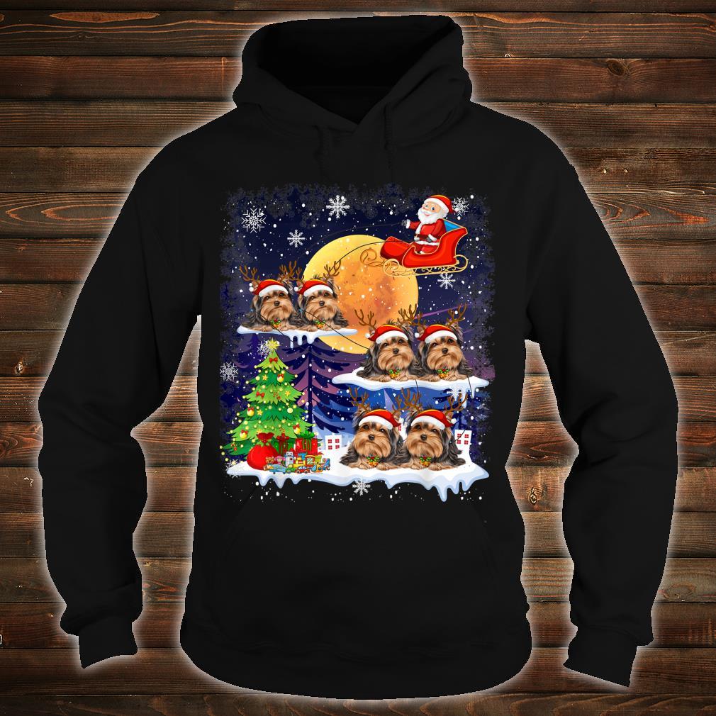 Tibetan Terrier Dog Christmas Reindeer Tree Xmas For Shirt hoodie