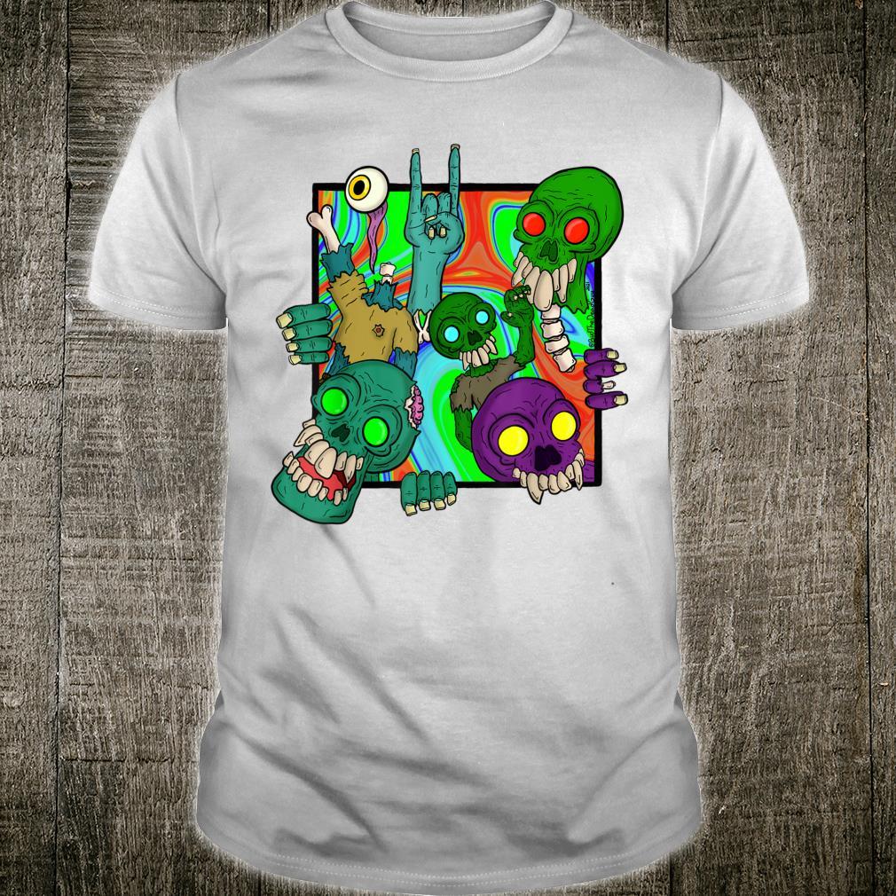 Trippy zombies Shirt