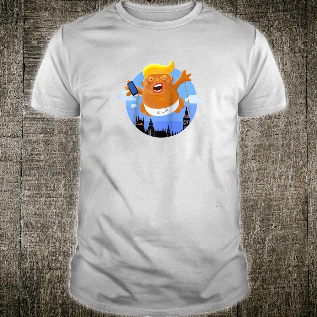 Trump Big Inflatable Baby Blimp Balloon Shirt