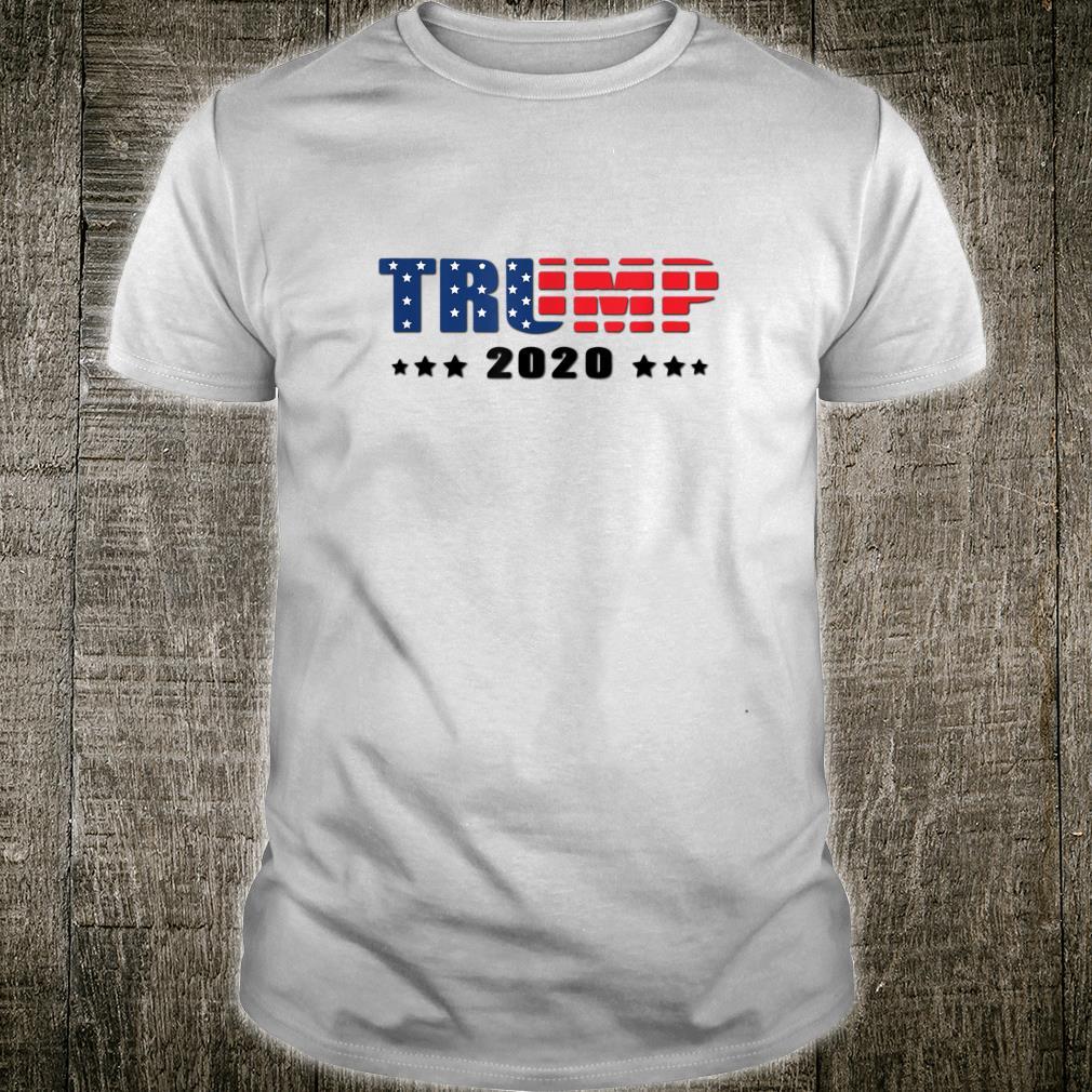 Trump Donald Trump election 2020 American flag USA outfit Shirt