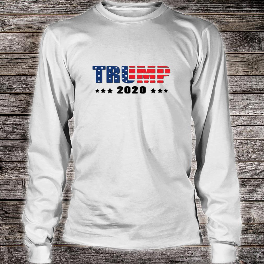 Trump Donald Trump election 2020 American flag USA outfit Shirt long sleeved