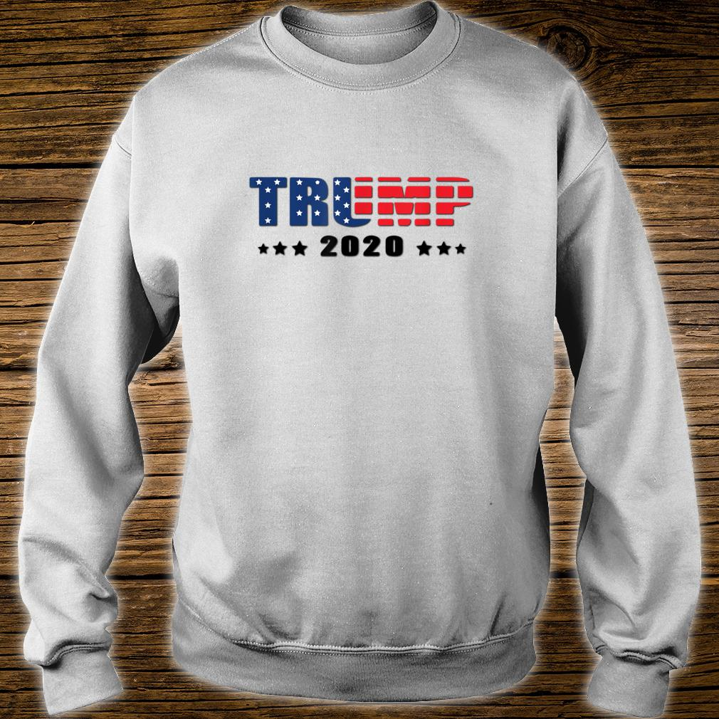 Trump Donald Trump election 2020 American flag USA outfit Shirt sweater