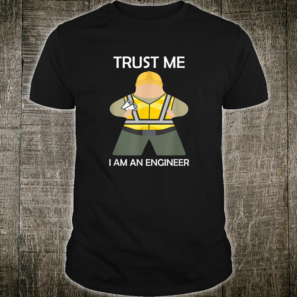 Trust Me I am an Engineer Board Game Meeple Shirt