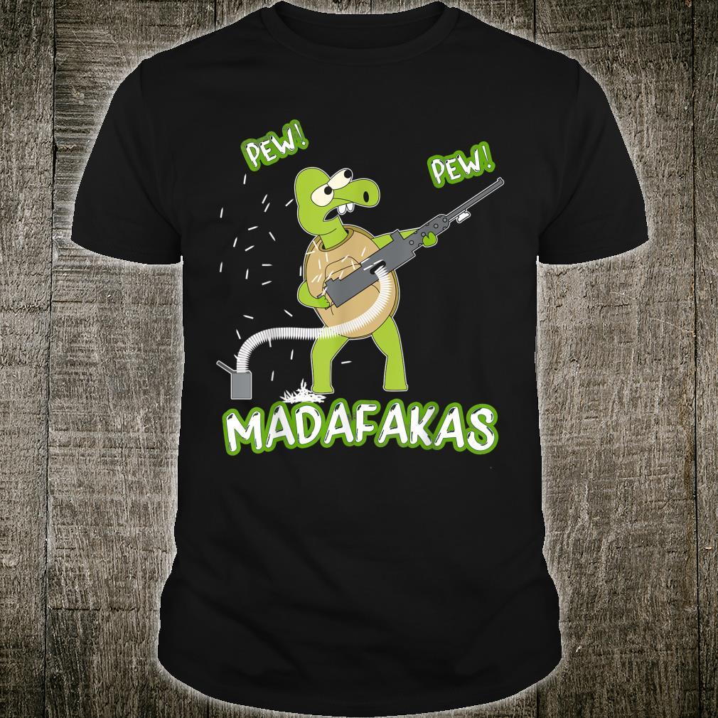 Turtle Pew Pew Madafakas Vintage Turtles Shirt