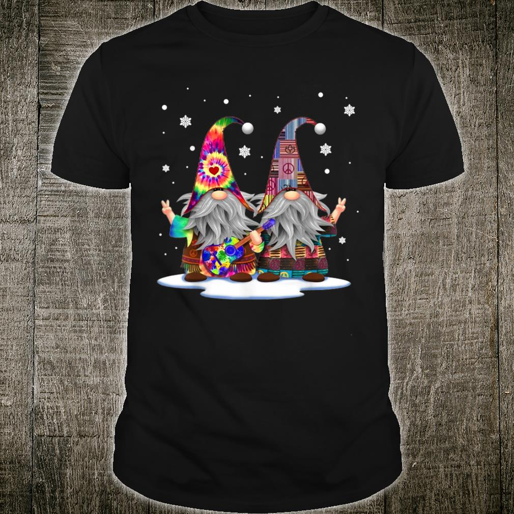 Two Gnomes Hippie Costume Christmas Xmas Shirt