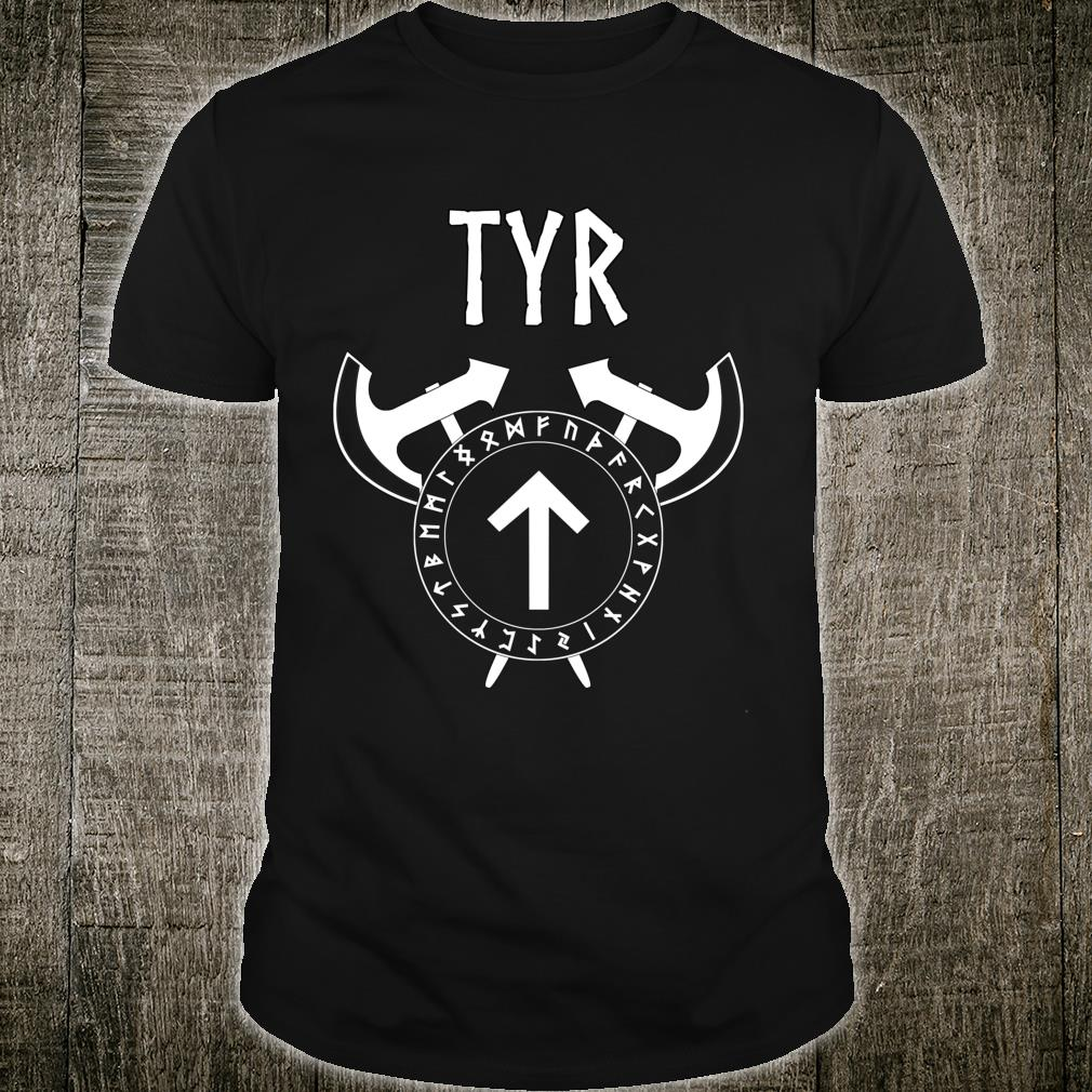 Tyr Viking Warrior God Shirt