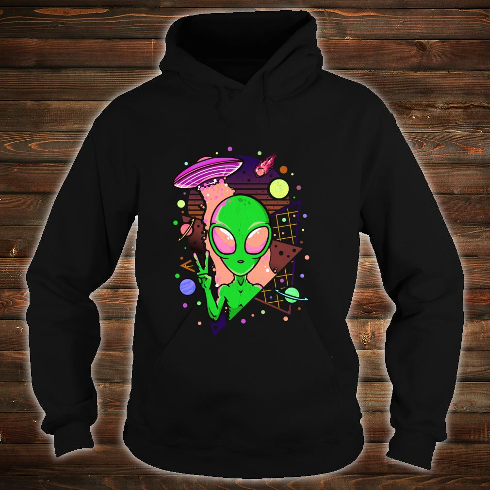 UFO Alien Japanese Vaporwave Retro Pastel Goth Otaku Shirt hoodie