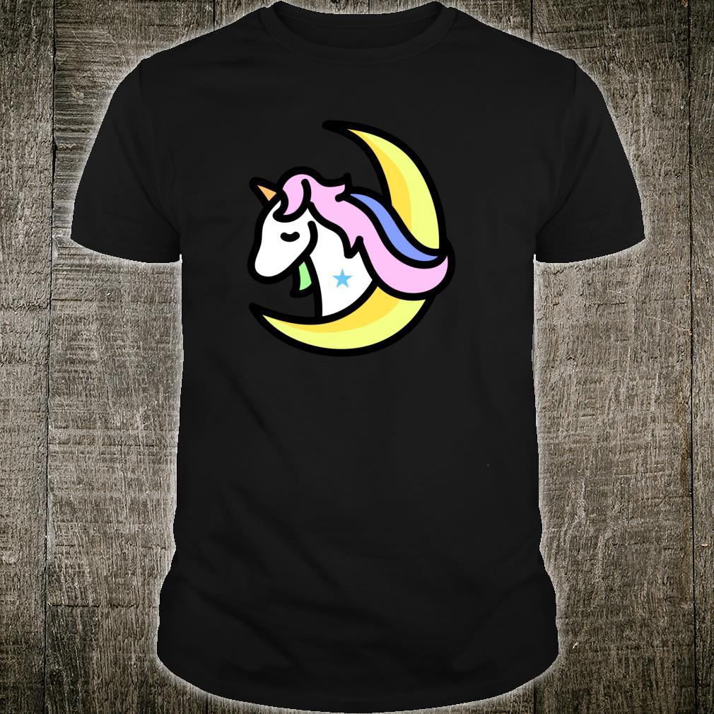 UNICORN Moon Pajamas I Heart Magical Horses Shirt