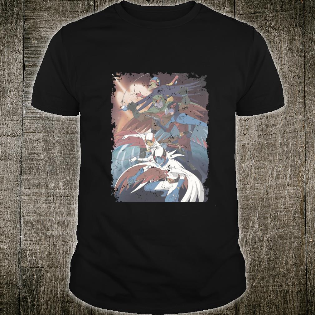 US Gatchaman Poster Planet Distressed 01 Shirt