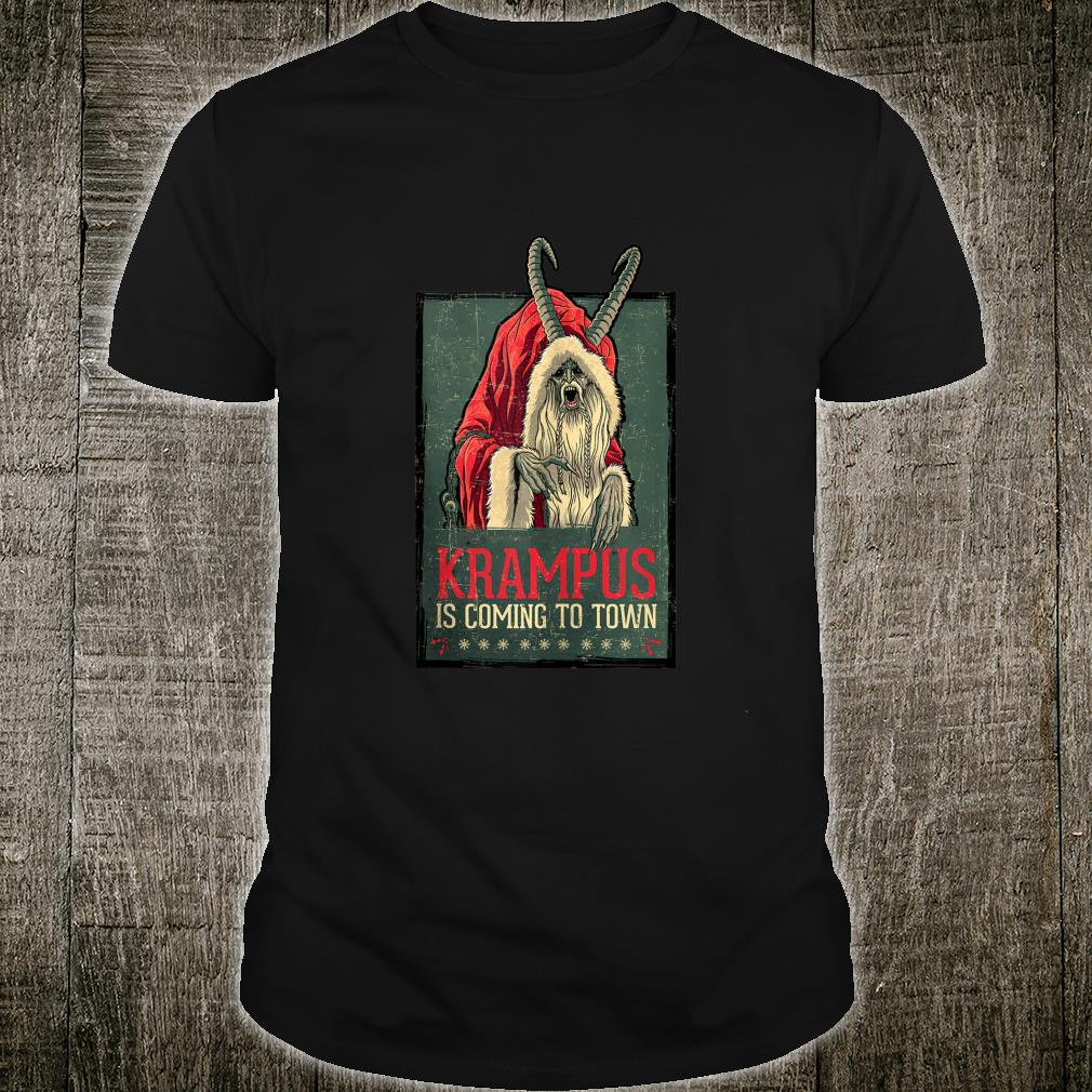 US Legendary Pictures Krampus Poster Vintage 01 Shirt