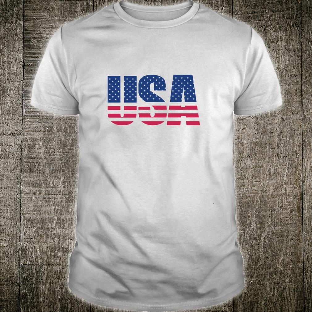 USA AMERICAN Pride USA Patriot Stars Red White Blue Shirt