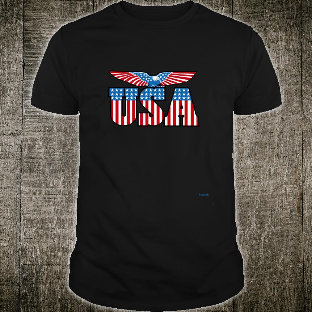 USA American Eagle Stars and Stripes vintage Shirt