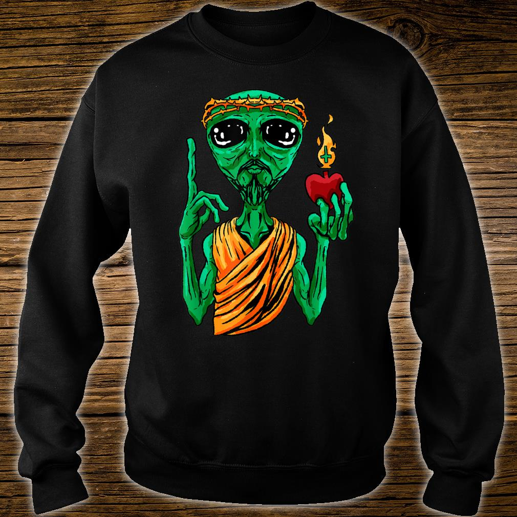 Ufo Alien Strange Foreign Cool Space Flying Saucer Idea Shirt sweater