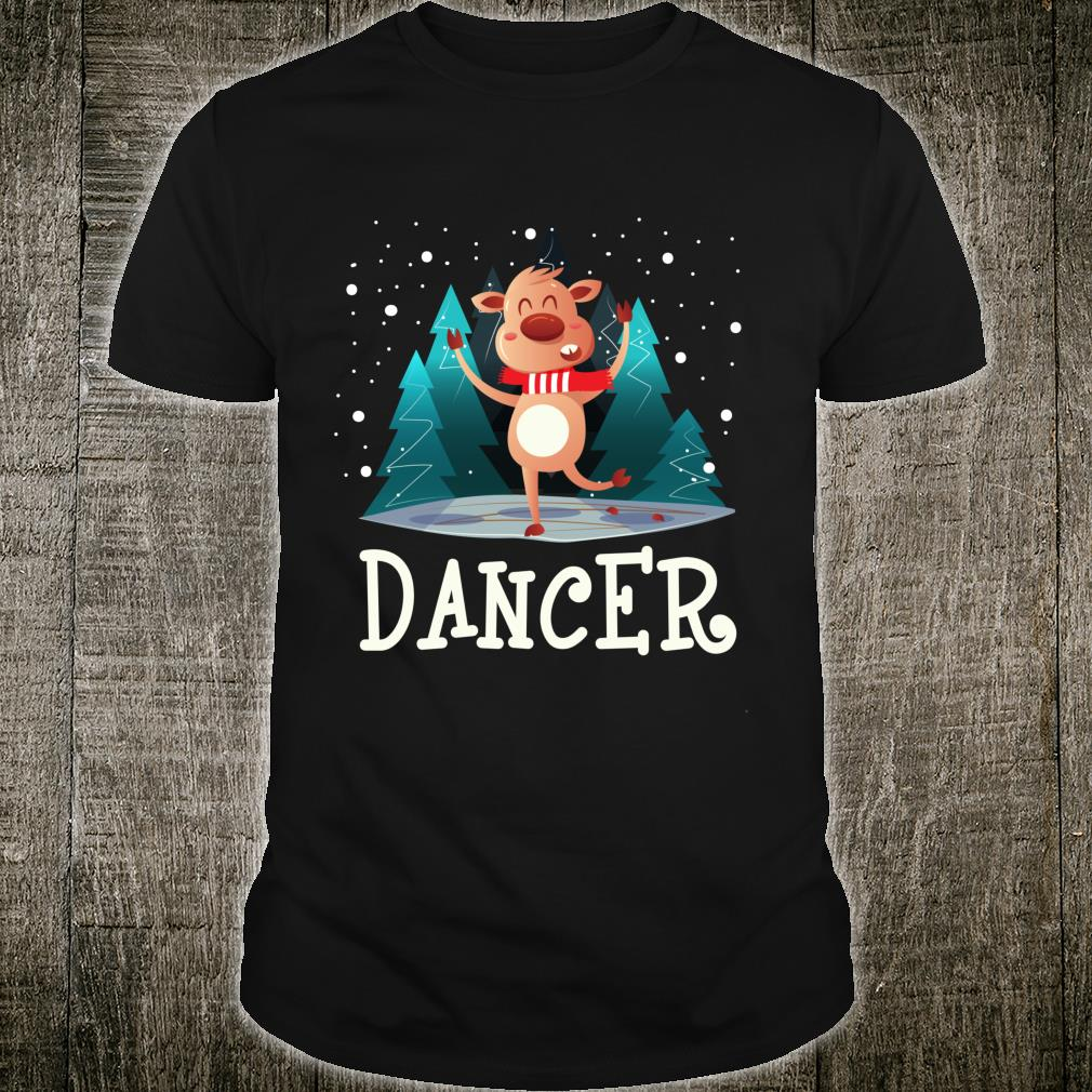 Ugly Christmas Reindeer Dancer Christmas Long Shirt