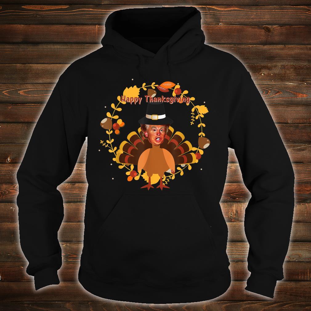 Ugly thanksgiving donald trump turkey Shirt hoodie