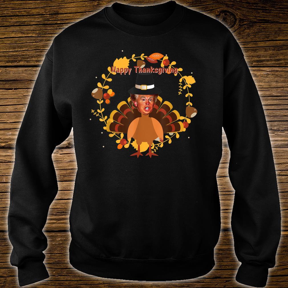 Ugly thanksgiving donald trump turkey Shirt sweater