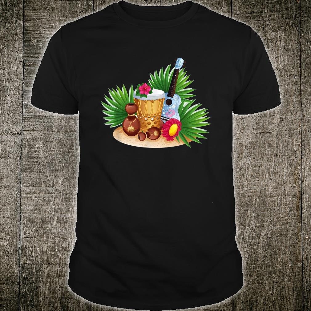 Ukulele Shirt Uke Player Music Instrument Retro Shirt