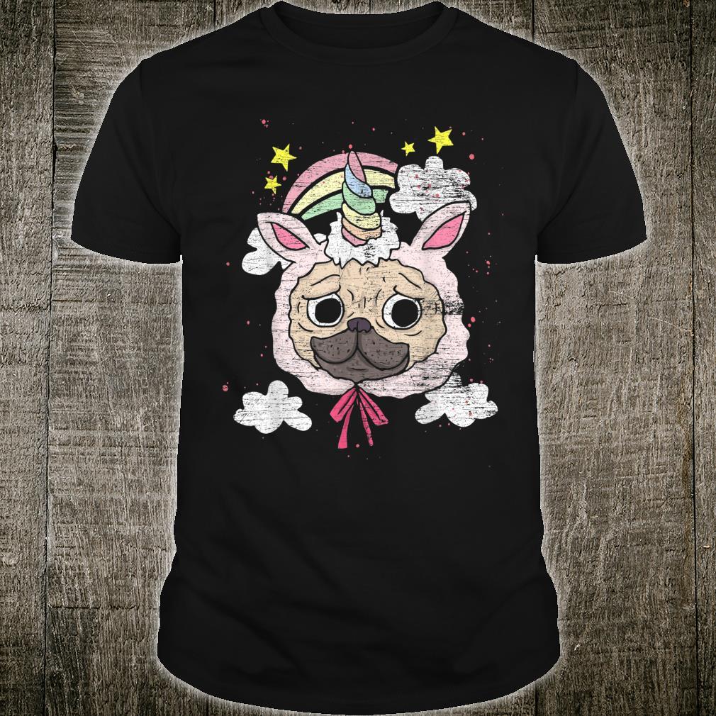 Unicorn Pug Shirt
