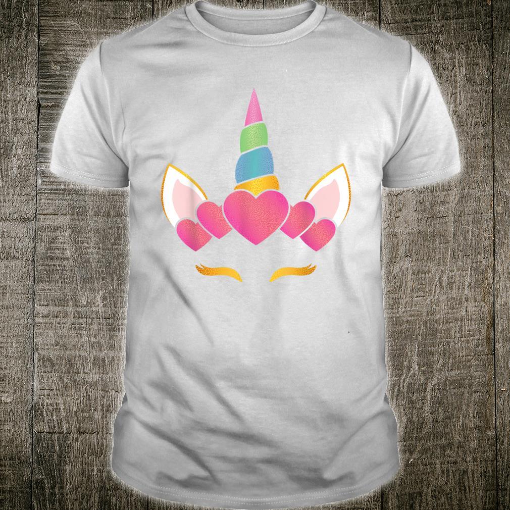 Unicorn Shirt For Girls Cute Unicorn Birthday Shirt