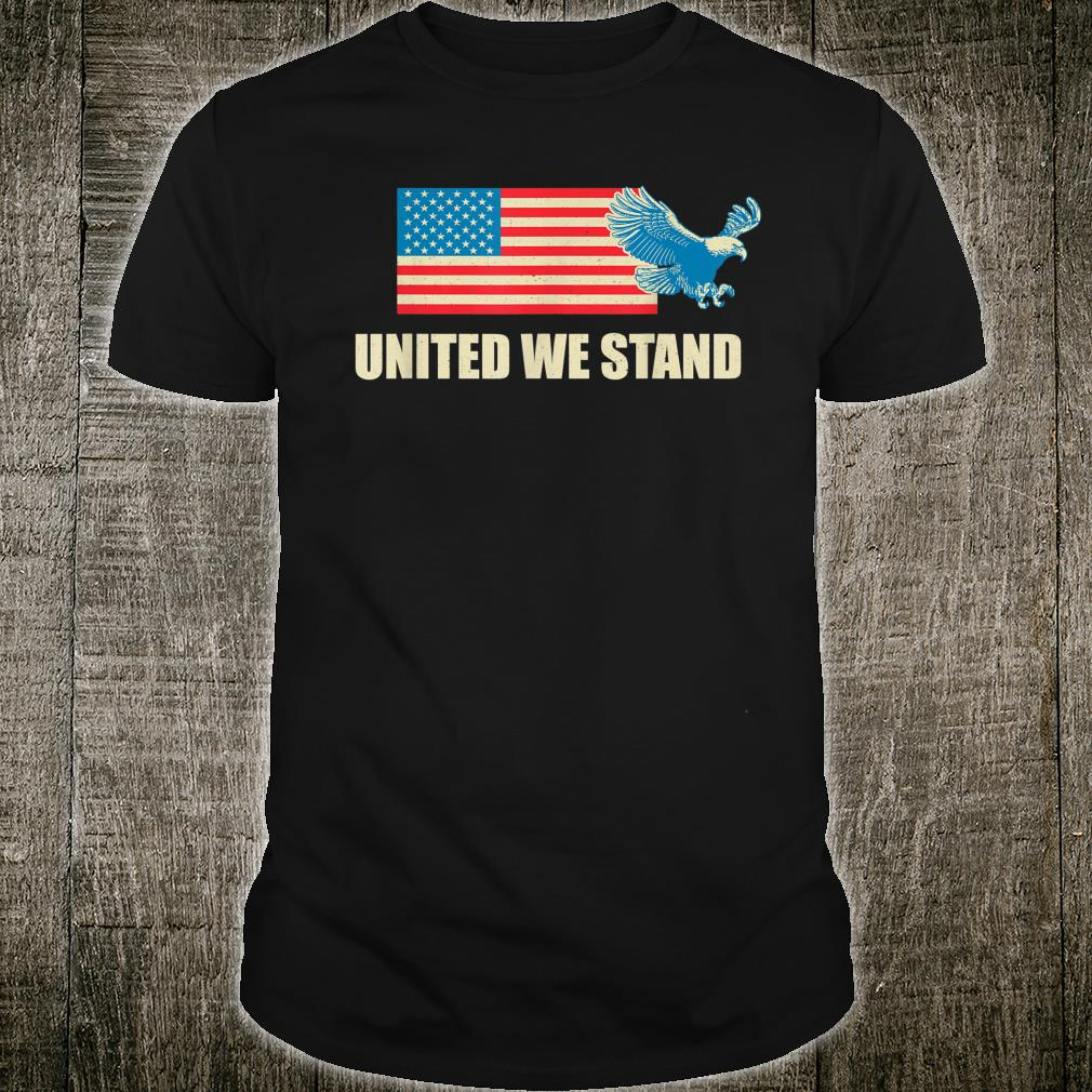 United we stand USA flag Shirt