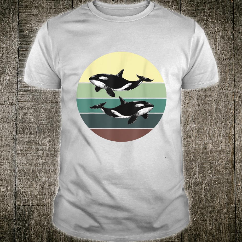 Unterwasserwelt Ozean Tier Geschenk Orca Shirt