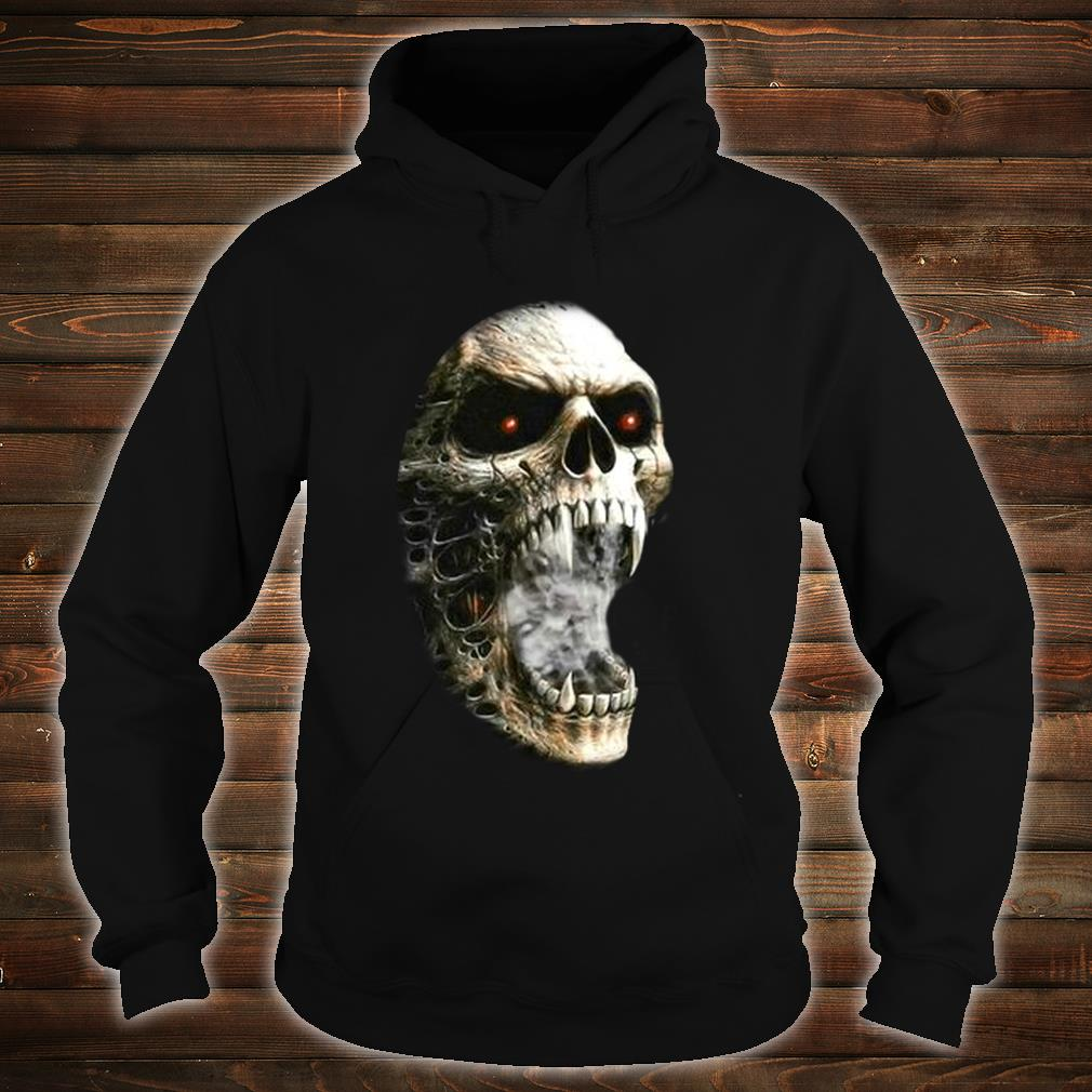 Unzipped Skeleton with Transformation Shirt hoodie