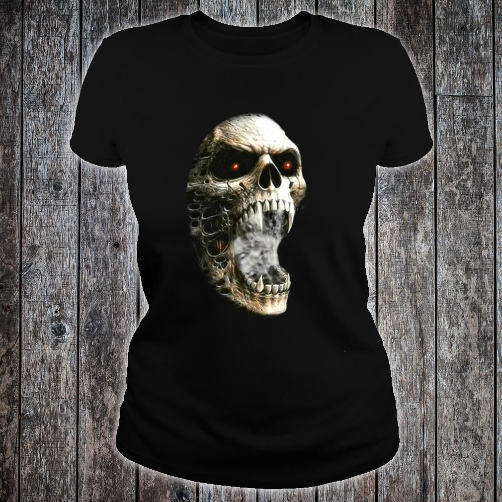 Unzipped Skeleton with Transformation Shirt ladies tee